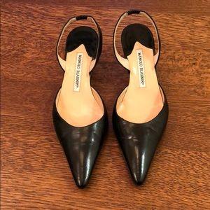 Authentic Manolo Blahnik shoes.